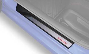 Genuine Honda Illuminated FT Door Sill Trim Fits: 2017-2020 Civic Si and Sport