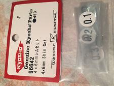 Kyosho SHIMS 4 x 6mm 0.1, 0.2, 0.3, 10 x EACH 96642