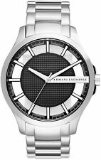 Men's Armani Exchange Black Dial Steel Watch AX2179