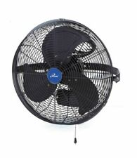 very good condition and slightly used Inches Wall Mountable Outdoor Fan - Black