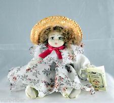 BAMBOLA di PORCELLANA CAPODIMONTE - dolls house casa bambola - nuovo