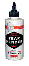TEAR MENDER Fabric & Leather Adhesive 6oz. #TG-6 NEW