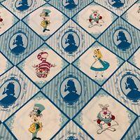 85020107 - 100% cotton print fabric - Alice In Wonderland