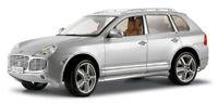 Porsche Cayenne Exclusive Turbo Silver Maisto Diecast Car Collection Model 1/18