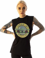 Amplified Guns N Roses T-Shirt Logo Women's Sleeveless Band Tee