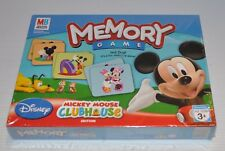 MICKEY MOUSE CLUBHOUSE MEMORY CARD GAME 2007 SEALED Disney
