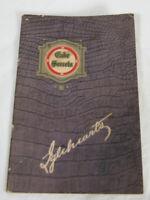 1924 Iglehearts Cake Secrets Recipe Pamphlet