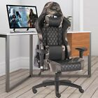Z-shaped Gaming Desk Chairs Computer Racing Office Chair Mesa Table Gamer RGB