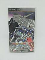 Sony PSP Playstation Portable - MOBILE SUIT Gundam vs Gundam  - BANDAI Japan Ver