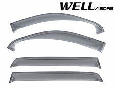 For 07-15 Toyota Sequoia WellVisors Side Window Visors Off-Road Series