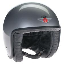 Davida Jet Gloss Silver Open Face Helmet XXL 80102XXL