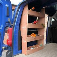 Citroën Berlingo II SWB Van Storage Shelving Plywood Racking Tool Shelves Rack