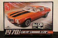 AMT Chevy Camaro Z28 1970 1/2 - Plastic Model Car Kit - 1/25 Scale