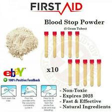 BLOOD STOP POWDER BLOODING CLOTTING ORGANIC POWDER FIRST AID BLOOD CLOTTING STOP