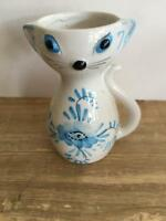 Colorful Mid Century Cat Creamer Pitcher Made Italy #4
