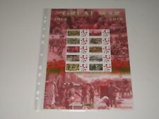 The Great War Limited Edition Collector Sheet - Mint  BC-393