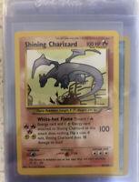 *REPLICA* Shining Charizard 107/105 Secret Rare Neo Destiny Pokémon Card