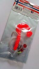 Mikado Norway Quest Dorsch Vorfach System,Länge 130 cm,2 Rot Twister/Dorsch