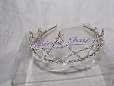 Bonito Linzi Jay Dama de Honor Boda Tiara Diadema Cristal Graduación Navidad