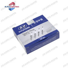 Genuine Hyundai Accent Elantra Getz (2002-11) Spark Plugs (x4) 18814 11051