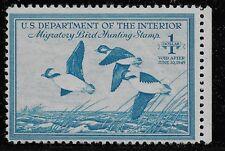 US Scott #RW15, Single 1948 Buffleheads $1 FVF MNH