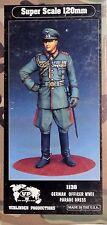 120MM 1/16 RESIN FIGURE BY VERLINDEN 1138 GERMAN OFFICER WWII. NEW.