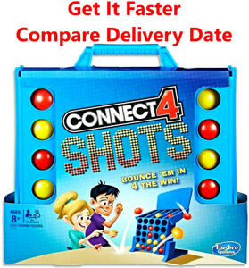 Connect 4 Shots Bounce Family, Friends & Party Board Game Hasbro NEW