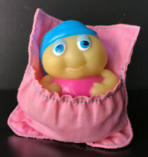 Vintage Glo-Friends Glow Worm 1985 Glo-Snugbug Sleeping Bag Hasbro Playskool