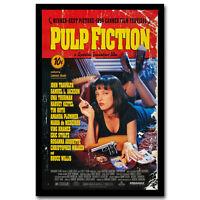 Pulp Fiction 1994 Classic Film Movie Art Silk Poster Print 12x18 32x48inch