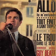 45TRS VINYL 7''/ RARE FRENCH EP GUY BEART / DOMINIQUE GRANGE / SAINT TROPEZ