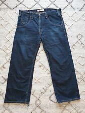 Levis 503 Mens Loose Fit Dark Blue Jeans Skateboarding Style Size W34 L30