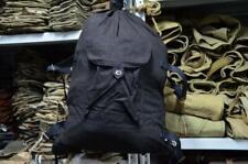 Original BLACK!russian army backpack soviet soldier Marines USSR duffel bag New