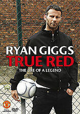LN DVD Ryan Giggs TRUE RED Manchester Man United Football THE LIFE OF A LEGEND