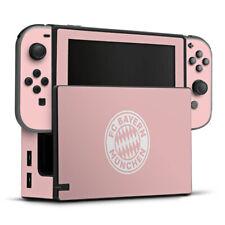 Nintendo Switch Folie Aufkleber Skin - Rosatraum FC Bayern München