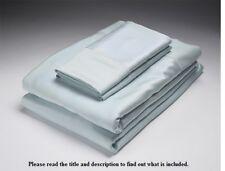 NEW Home Source 52500SD SKY STD/QUEEN 250 Thread Count Bamboo Pillowcase Pair