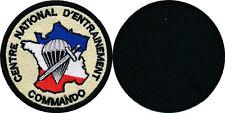 Centre National d'Entraînement Commando, sur velcros