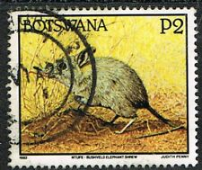 Botswana 1992. Nature. Animals. Elephant Shrew. 2p. Used.