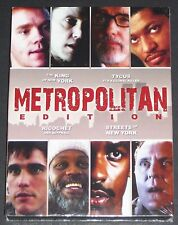 Metropolitan Edition,4 Filme! King of New York, Tycus, Ricochet, Streets of N.Y.