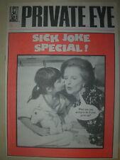 PRIVATE EYE MAGAZINE No 679 DECEMBER 25 1987 SICK JOKE SPECIAL