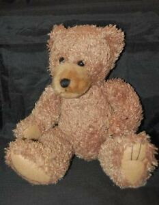 "Scraggles Brown Teddy Bear 11"" Plush Stuffed Animal Lovey Padded Paws First Main"