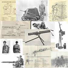 RACCOLTA PDF MANUALI MILITARI MITRAGLIATORI E ARMI LEGGERE ITALIA WW1 WW2 SCAVO