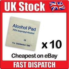 10 x IPA Wipes 70% Isoropyl Alcohol Swabs NHS Quality