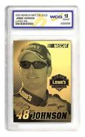 JIMMIE JOHNSON 2003 Laser Line Gold Card LOWES #48 Graded GEM MINT 10 * BOGO *