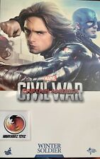 Hot Toys Marvel Captain America Civil War Winter Soldier MMS351 1/6 Sideshow