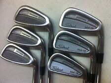 Used Titleist Classic 704 CB Forged Blade 5-PW 6 Iron, RH, S-flex, NS Pro 970