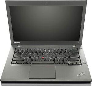 "Lenovo T440 Slim Laptop Intel Core i5-4200u 8GB 256GB SSD 14"" Windows 10 Webcam"