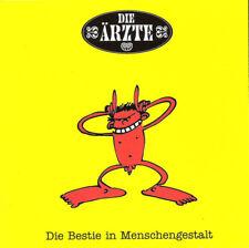 DIE ARZTE Die Bestie in Menschengestalt CD 1993 punk-pop-rock GERMANY Die ärzte