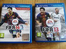 LOT DE JEU PS VITA : FIFA 13 - FIFA 14