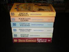 DAVID EDDINGS CHOOSE A BOOK LOT 1980'S EXCELLENT CONDITION!