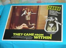 original THEY CAME FROM WITHIN lobby card David Cronenberg Barbara Steele